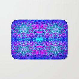 Bright Cool Stars Bath Mat