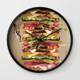 Hamburger Tower Wall Clock