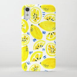 Lemon Bliss iPhone Case