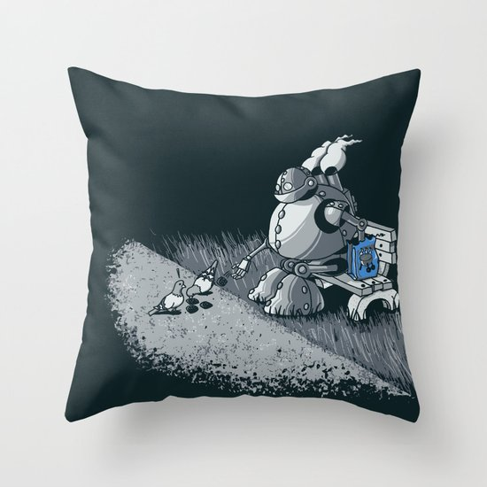 Here Ya Go Little Fella! Throw Pillow