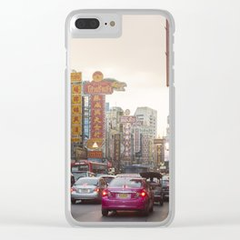 Yaowarat Road - Bangkok's Chinatown Clear iPhone Case