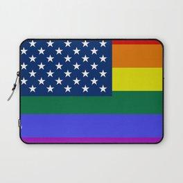 American Pride Flag Laptop Sleeve