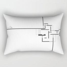 Mies! Rectangular Pillow