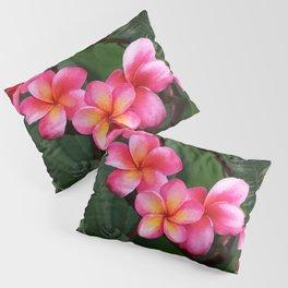 Hawaiian Sunrise Plumeria Pillow Sham