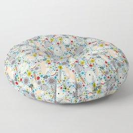 Bunny Rabbits Floor Pillow
