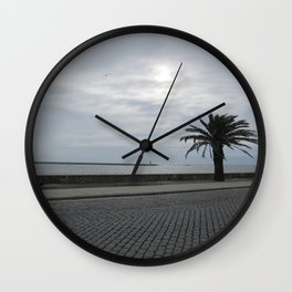 Foz: Atlantic 1 Wall Clock