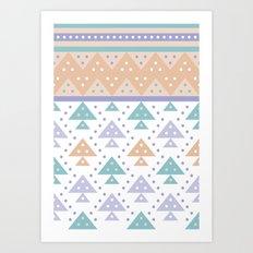 Tee-Pee Art Print