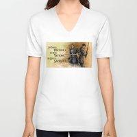 """dragon age V-neck T-shirts featuring Dragon Age - Grey Wardens by Barbara """"Yuhime"""" Wyrowińska"""