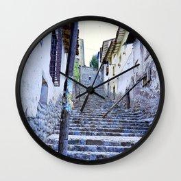 Long way up Wall Clock