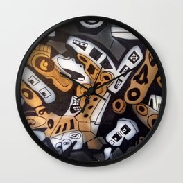 Colby collision Wall Clock