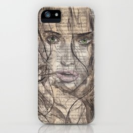 Killed By Love portrait iPhone Case
