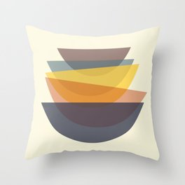 Have some bowls Throw Pillow