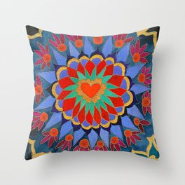 Feral Heart #04 Throw Pillow