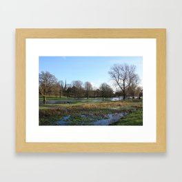 After the Snow Thaw Framed Art Print