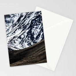 WINTER CONTRAST Stationery Cards