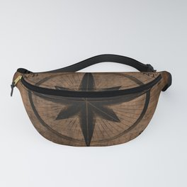 Nostalgic Old Compass Rose Fanny Pack