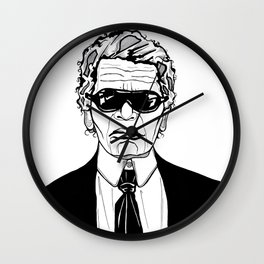 Uncle Karl Lagerfeld Wall Clock