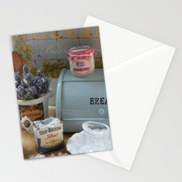 A day for baking Stationery Cards