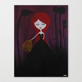 Stolen heart Canvas Print