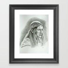 Galadriel Framed Art Print