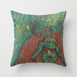 verdant (staggirl 3.0) Throw Pillow