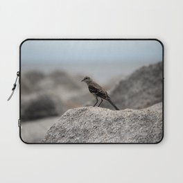 Bird On A Rock By The Sea Laptop Sleeve