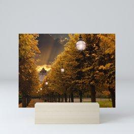 Avenue to the Castle at Windsor Mini Art Print