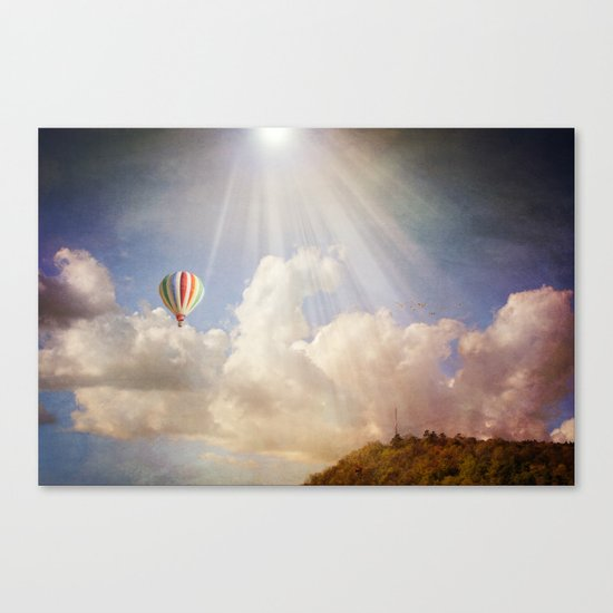 Dreams of Light Canvas Print
