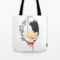 hamlet Tote Bags featuring Hamlet by Gardensounds