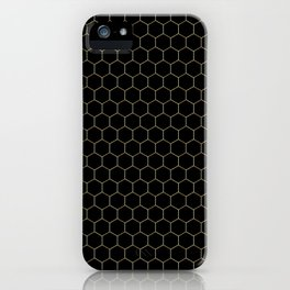 Gimme' Glamour Honey iPhone Case