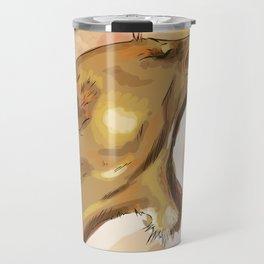 Tiger's howling Travel Mug