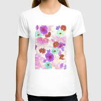 oriental T-shirts featuring Oriental blossom by Federico Faggion