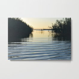 Over the water Metal Print
