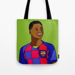 Ansu Fati Wunderkind Tote Bag