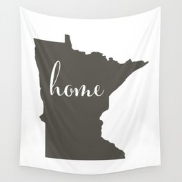 Minnesota is Home Wall Tapestry
