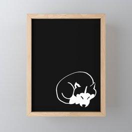 Siberian Husky 4 Framed Mini Art Print
