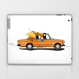 Llama on a Lada Laptop & iPad Skin