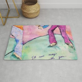 I'll run away with you Rug