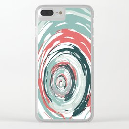 Pattern 45 Clear iPhone Case