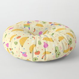 Taco Fiesta Floor Pillow