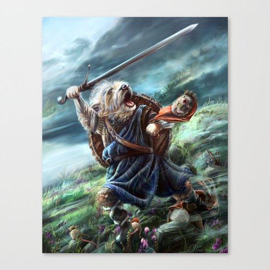 Bruno the Brave Canvas Print