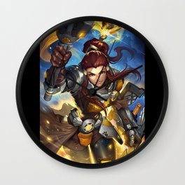 over brigette watch Wall Clock