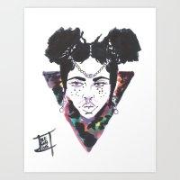 Open Eyes Art Print