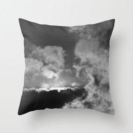 Clouds #2 Throw Pillow