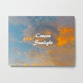 Coucou Sunlight Sunshine Cloud Blue Sky Metal Print
