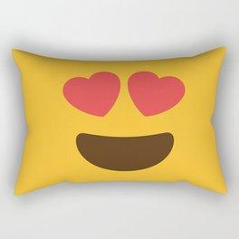 Love Face Rectangular Pillow