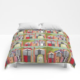 Literally Living in a Jane Austen Novel Comforters