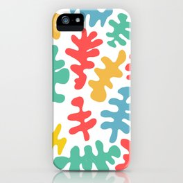 coral by the sea iPhone Case