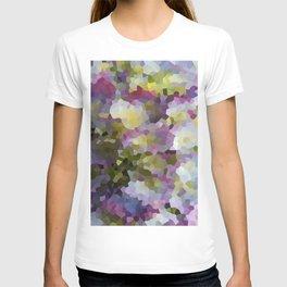 Crystallized Purple Hydrangea T-shirt