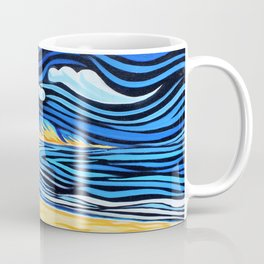 Frazer Island by Michael Baker Coffee Mug
